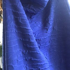 Material Girl by Madonna dress in cobalt blue